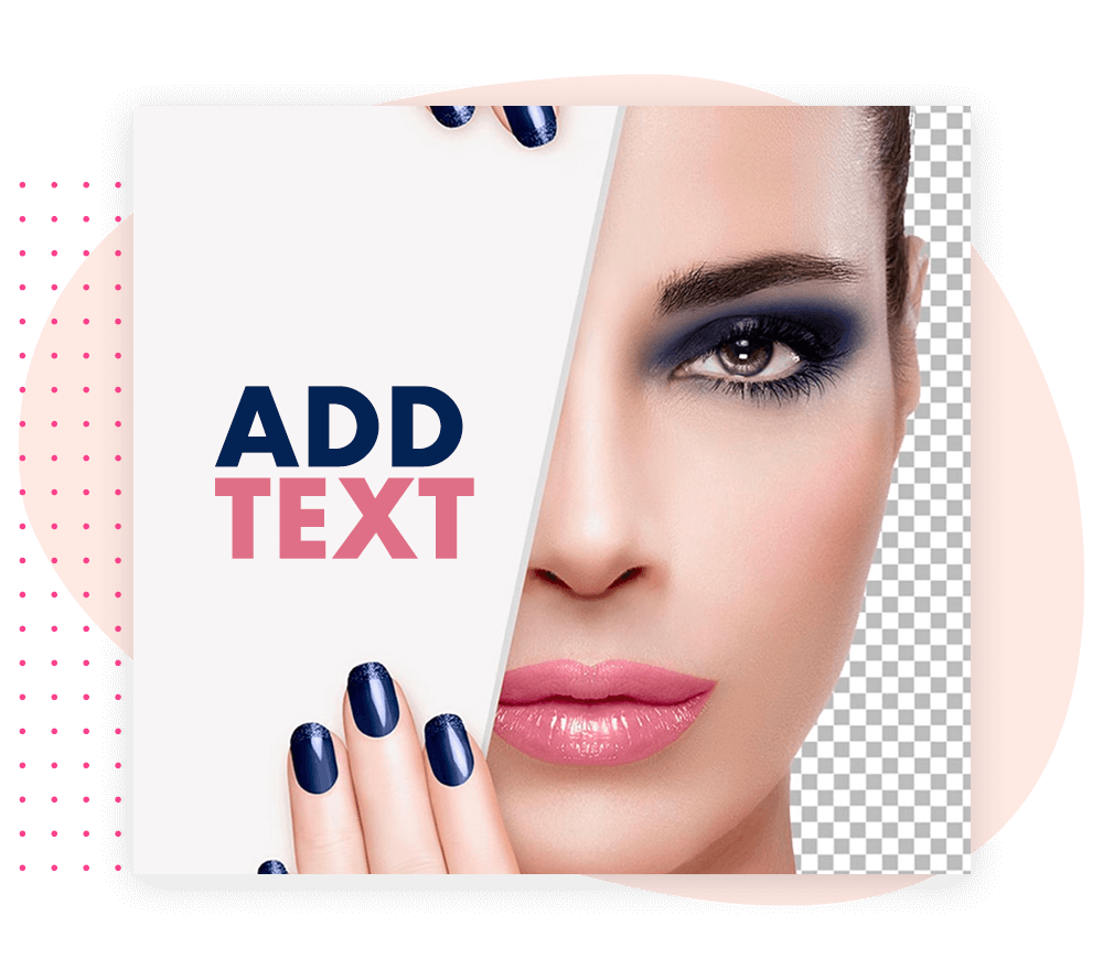 How To Add Text in Background eraser