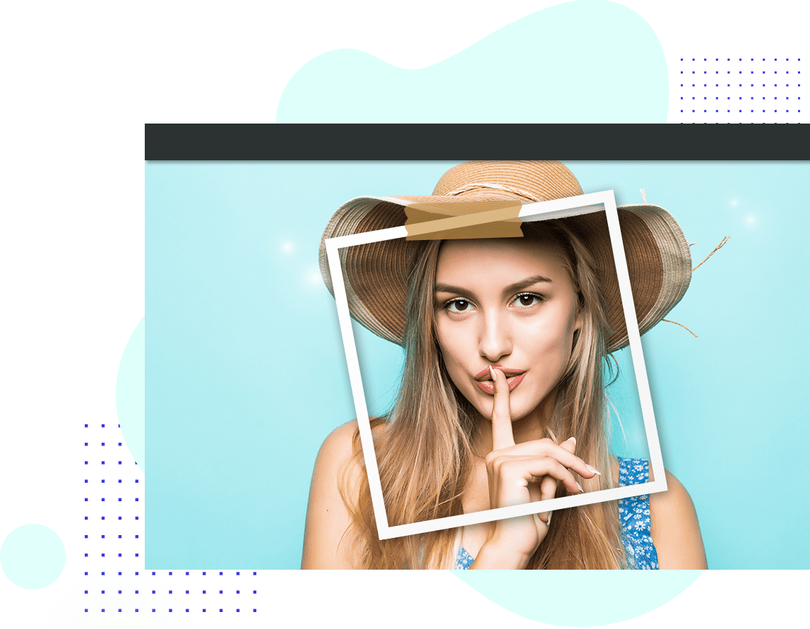How To Use PIP Photo Effect Of Beauty Cam
